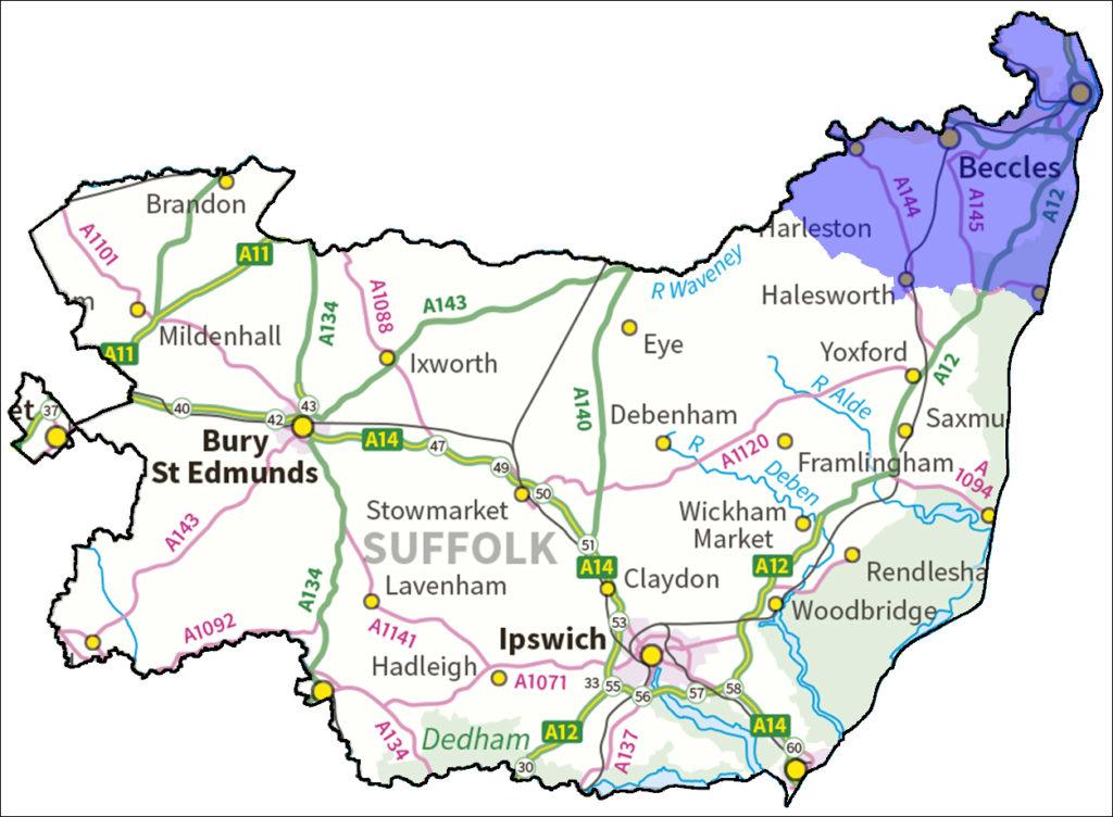 Inspiration Teaching School Hub map