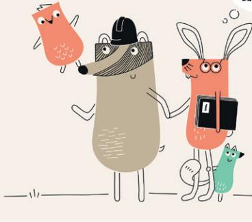 animal cartoon graphic