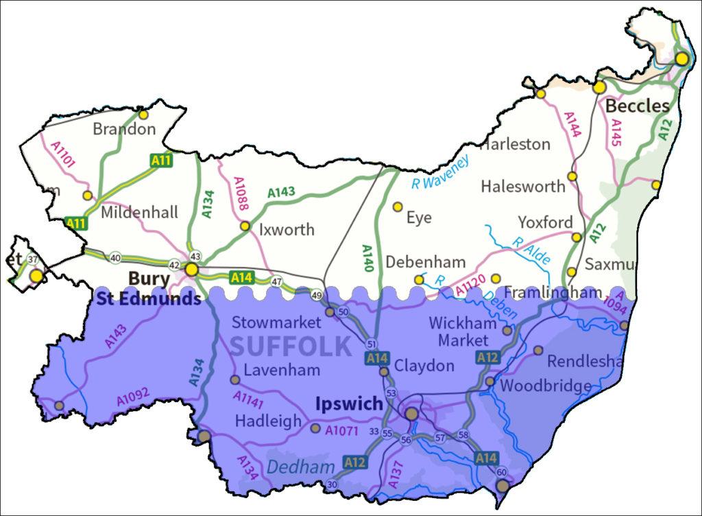 Myland English Hub map
